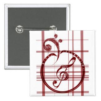 SinG LoVe SmiLe button1 15 Cm Square Badge