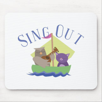 Sing Out Mouse Pad