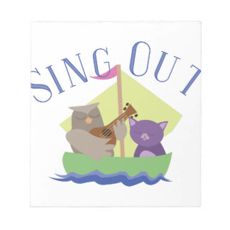 Sing Out Notepads