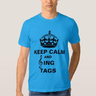 Sing Tags Tshirts