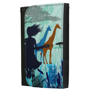 SING TO THE WIND LEATHER WALLET