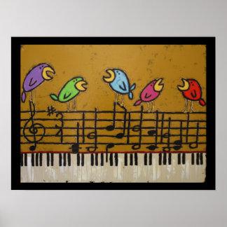 singalong birds poster