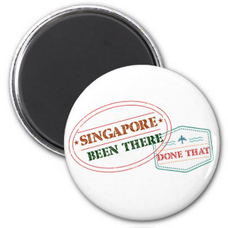 Singapore Been There Done That Magnet