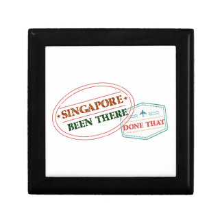 Singapore Been There Done That Small Square Gift Box