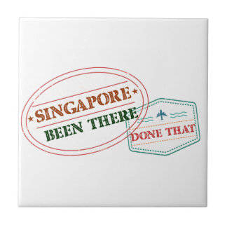 Singapore Been There Done That Tile
