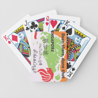 Singapore Bicycle Playing Cards