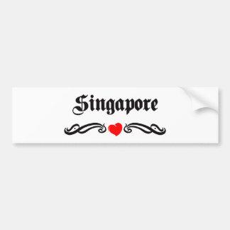 Singapore Bumper Sticker