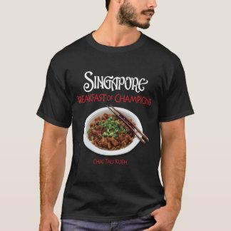 Singapore Chai Tau Kueh - Dark Fabric T-Shirt