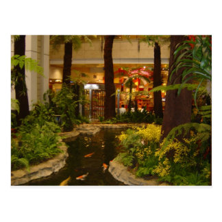 Singapore Changi Airport Postcard