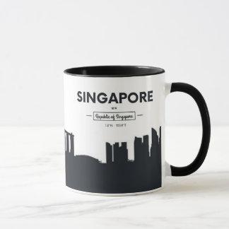 Singapore, China   City Coordinates Mug