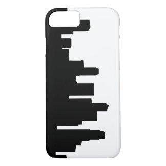 singapore city skyline silhouette iPhone 8/7 case