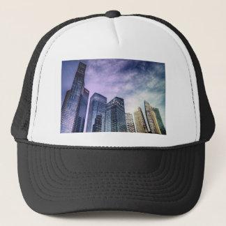 Singapore City Trucker Hat