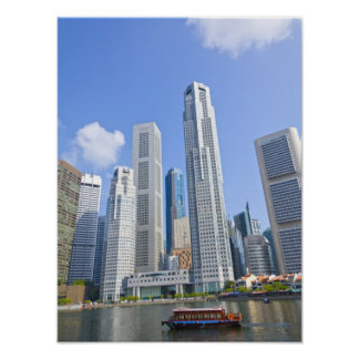 Singapore - Financial District Poster