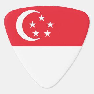 Singapore Flag Guitar Pick