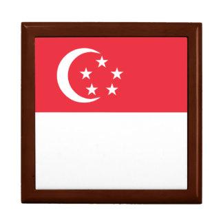 Singapore Flag Large Square Gift Box
