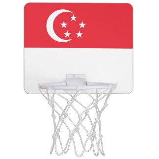 Singapore Flag Mini Basketball Hoop