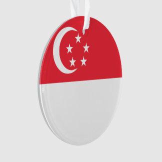 Singapore Flag Ornament
