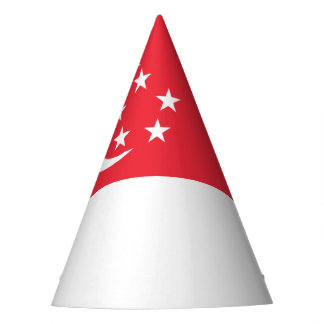 Singapore Flag Party Hat