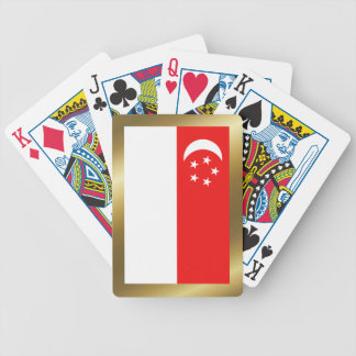 Singapore Flag Playing Cards