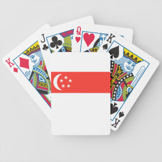 Singapore Flag Poker Deck