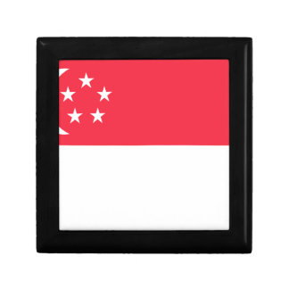 Singapore Flag Small Square Gift Box