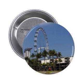 Singapore Flyer Pinback Button