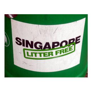 singapore free postcard