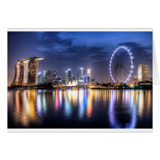 Singapore! Greeting Card