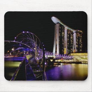 Singapore Helix bridge Mouse Pad