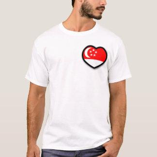 Singapore in My Heart Men Shirt