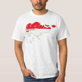 Singapore Map Designer Shirt Apparel Sale Him Hers