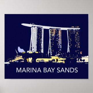 Singapore Marina Bay Sands Poster