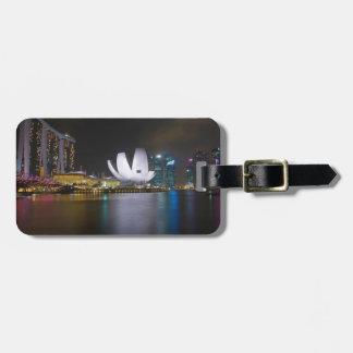 Singapore-Marina Bay Travel Bag Tag