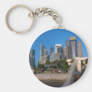 Singapore- Merlion Park Key Ring