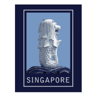 Singapore Merlion Postcard
