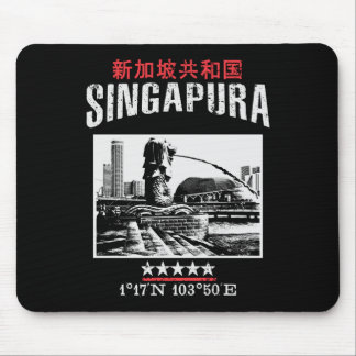 Singapore Mouse Pad