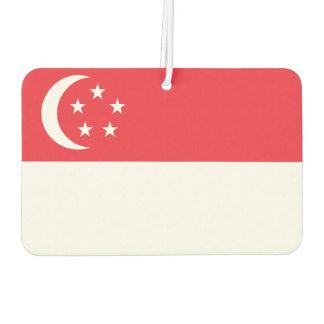 Singapore National World Flag Car Air Freshener