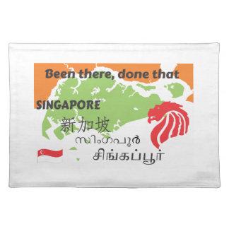 Singapore Placemat