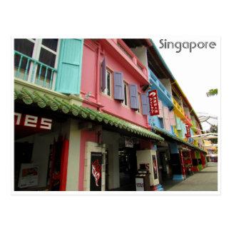 singapore quay postcard