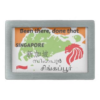 Singapore Rectangular Belt Buckle