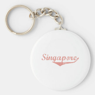 Singapore Revolution Style Key Chains