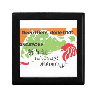 Singapore Small Square Gift Box