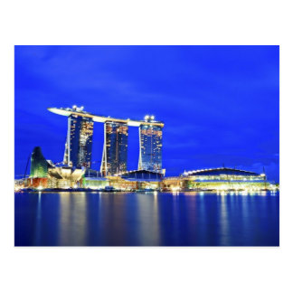 Singapore Waterfront Postcard
