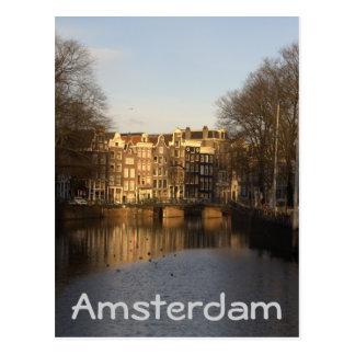 Singel, Amsterdam Postcard