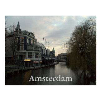 Singelgracht, Amsterdam Postcard