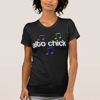 Singer Alto Chick T Shirts