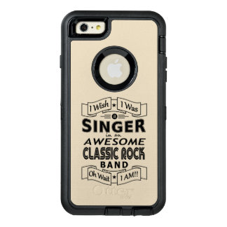 SINGER awesome classic rock band (blk) OtterBox Defender iPhone Case
