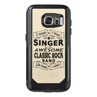 SINGER awesome classic rock band (blk) OtterBox Samsung Galaxy S7 Case