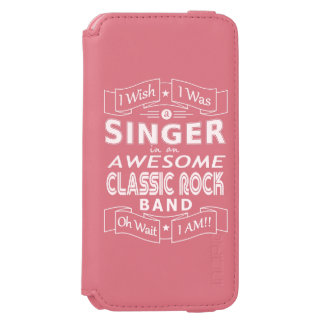 SINGER awesome classic rock band (wht) Incipio Watson™ iPhone 6 Wallet Case