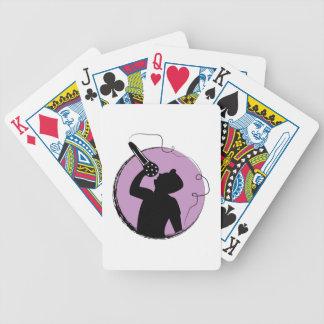 Singer Bicycle Playing Cards